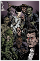 Universal Monsters by Tollbooth10