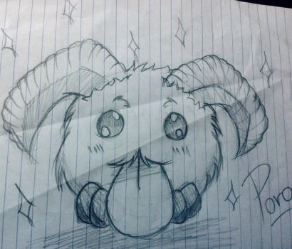 Poro by HunterRed