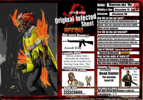 L4d Infected - Inferno by pirate-kit