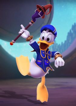 Donald Duck by Sticklove