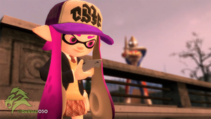 [GMOD] Inkling Schoolgirl and a giant? by DaVinci030
