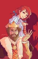 Sassy Wendy's and Burger King by Tukilit