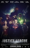 Justice League (Fan-Made) Movie Poster by DiamondDesignHD