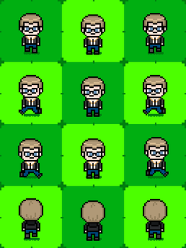 Fan Game Project: Nico Sprites by hanzostenger