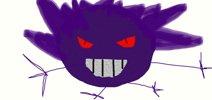 Shadow the Gengar OC by FUUNNYJOKE