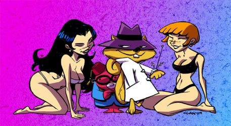 secret squirrel colored by gianmac
