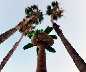 Exeggutor reaches for the Sky by Humdeedum233