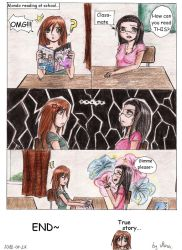 Just a random comic about my school life... :) by NinaChan95