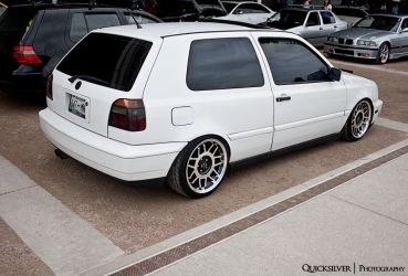 White golf MK3 by QuicksilverFX
