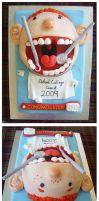 Dentistry Graduating Class cak by Cakerific
