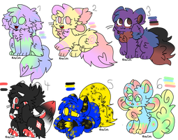 [Adoptables] Kittydogs adopts set price (6/6 OPEN) by CristAAdopt