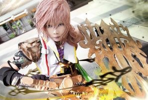 Lightning Returns Final Fantasy XIII by Inushio
