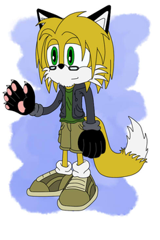 Sonicsona: Matt the Red Fox by Sonito1992