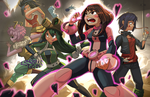 Hero Academia Girl Power! by Limited-Access