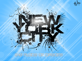 NYC - The Place Of Dreams by inmany