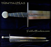 Dunmaghlas - Medieval Type XIIa Custom Sword by Fableblades