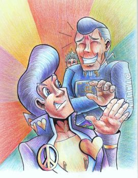 Morioh Goofballs by Pickledsuicune
