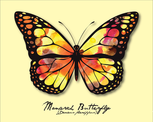 Pride Month - Yellow (Monarch Butterfly) by Catlore