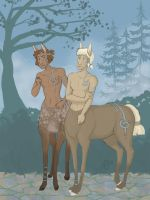 Silvius and the Prince by Svenly