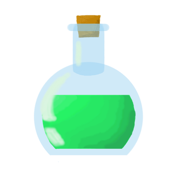 Potion Green by Shinigami-cat
