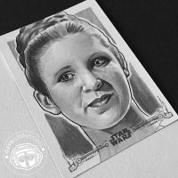A New Hope: Leia by BikerScout