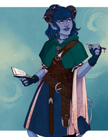 [Critical Role] Jester by hes-per-ides