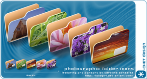 photoGraphic Folder Icons by digitalchet