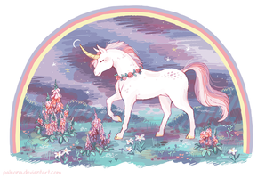 unicorn by Paleona