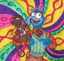 Gonzo and Rizzo by LizzyChrome