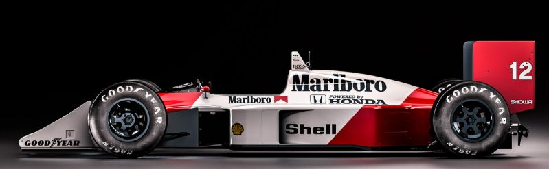 Mclaren Honda MP4/4 - Ayrton Senna by nancorocks