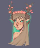 Deer Witch by WePePe