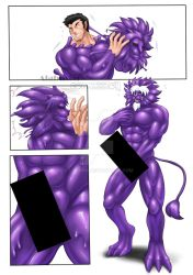 Goo-Chocolate Lion Statue : Norden - TF1/3 by St-Alpha