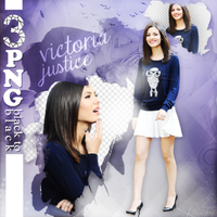 PNG PACK (16) victoria justice by ekinwinchester