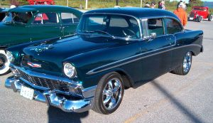 1956 Chevy Bel Air by Ripplin