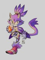 Blaze - Redraw by Natizilda