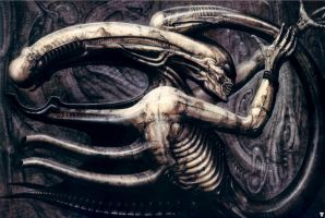 H. R. Giger XXX by CamillOnline