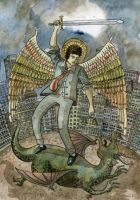 Archangel Michael by banas
