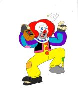 Pennywise the Hobo Clown (Colored) by MrBiteo