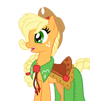 Applejack's Gala Vector by Outlaw-Marston