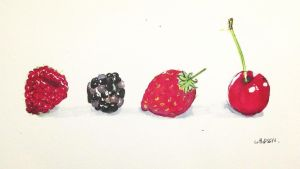 berries and friends by cathysquarepants