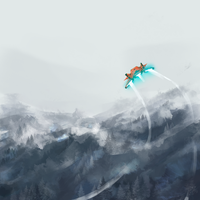 Chilly takeoff by OneSpeechless