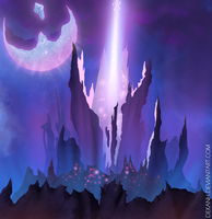 Tower of darkness (Aion) by Dekanh