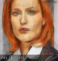 The X Files - Dana Scully by thephoenixprod
