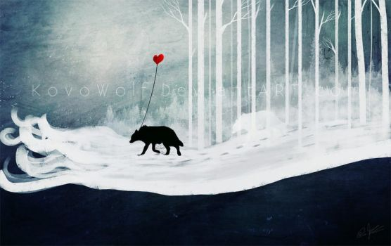 A Love Always Carried by KovoWolf