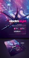 Flyer Electro Night by EAMejia