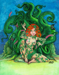 Poison Ivy Commission by NaughtyliciousArt