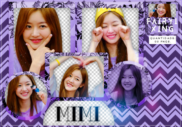 [PNG PACK #773] Mimi - GUGUDAN (160723) by fairyixing