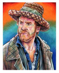 Vincent Van Gogh Doctor Who Portrait