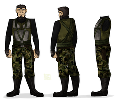 Reference Sheet: Andre Le Pein by A-Fox-Of-Fiction