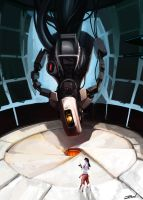 GLaDOS by Cryotube